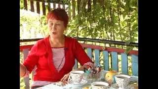 В гостях у члена клуба Мргаритка Е.Ф.Червяковой