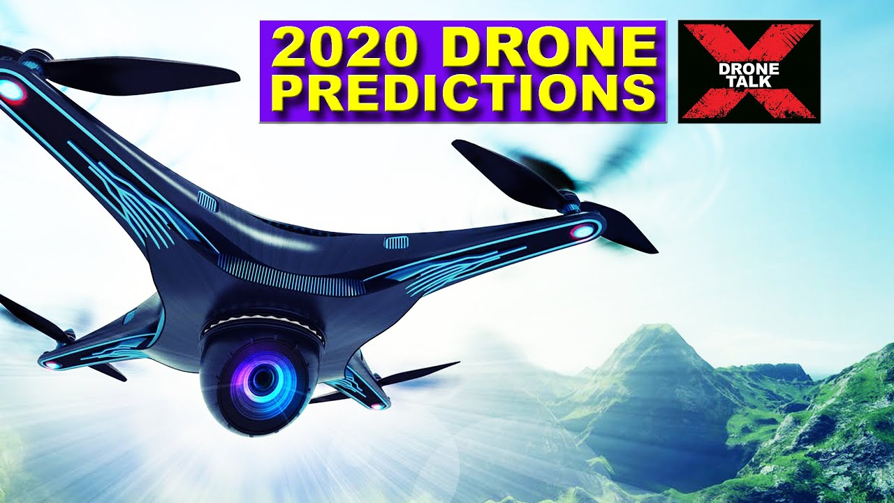 Drone Talk EP#1 - Year 2020 Drone Predictions - DJI, SKYDIO, AUTEL, PARROT, YUNEEC, XDYNAMICS
