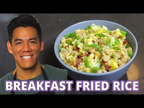 Breakfast Fried Rice Recipe Hangover breakfast