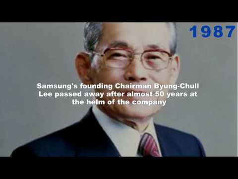 History of Samsung || 1938 - 2017