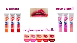 Magic Rouge à Lèvres Tatouage-Tattoo Lipgloss peel off [Test et Swatch]