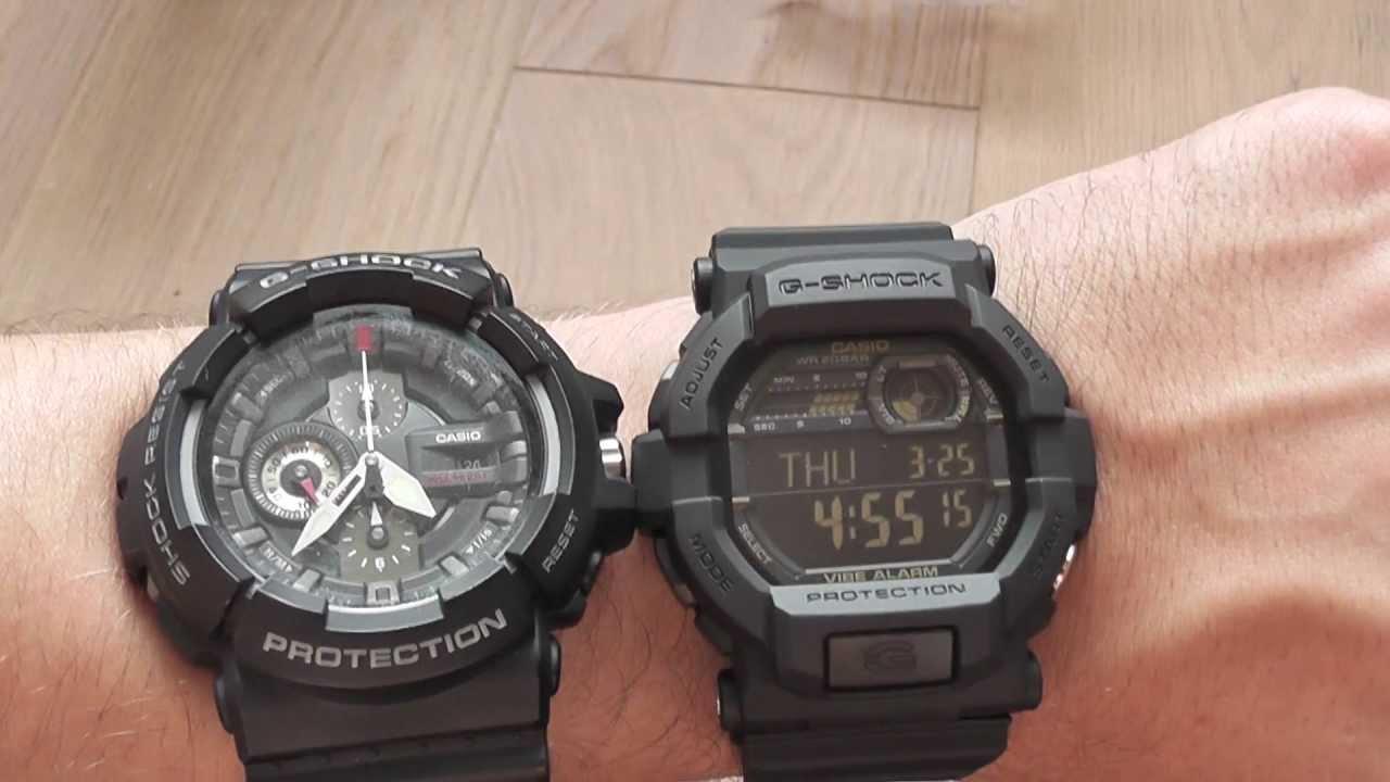4d2551d5d Casio G-shock GD350-1B vs GAC100-1A - YouTube