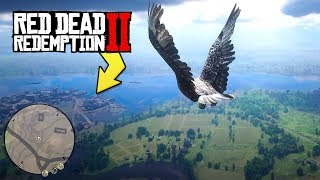 I Flew Across the Map in Red Dead Redemption 2, and it was awesome..