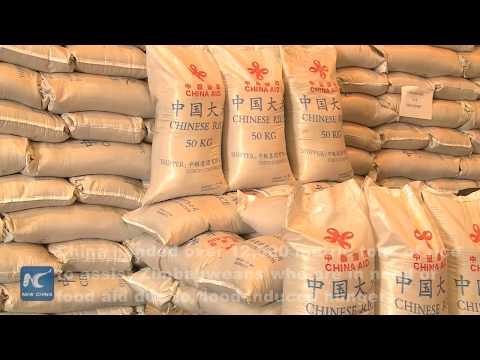 China donates rice in food aid to Zimbabwe