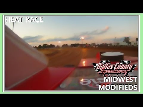 Dallas County Speedway Midwest Mod Heat 8-13-2011