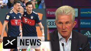 Jupp Heynckes: Sandro Wagner und Niklas Süle bereit für Jogi Löw | FC Bayern | Bundesliga