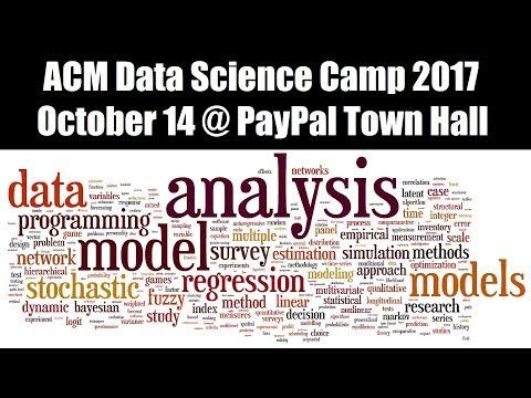 ACM  Data Science Camp 2017 Promo