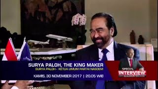 SURYA PALOH, THE KING MAKER