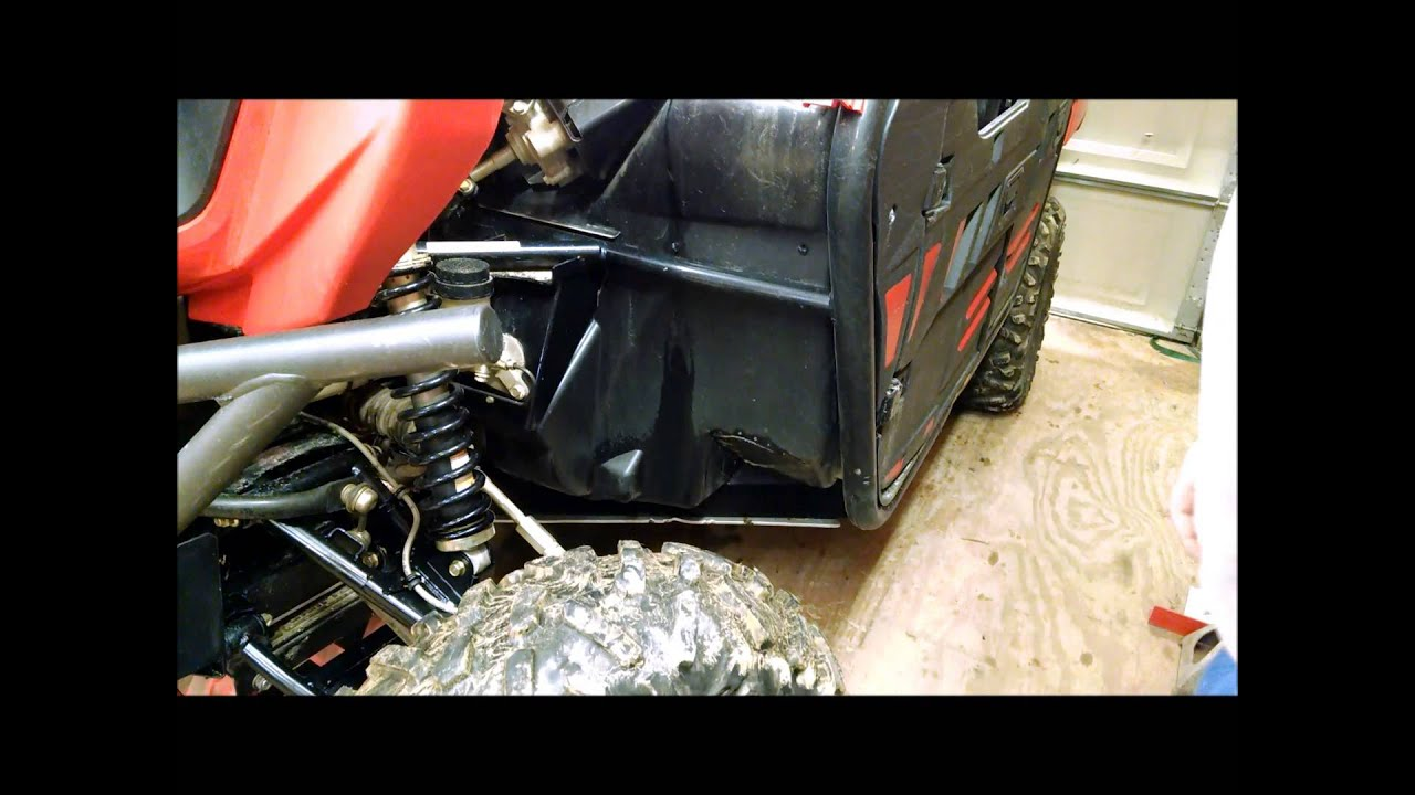 JBS Performance Kawasaki Teryx floorboard protector Install