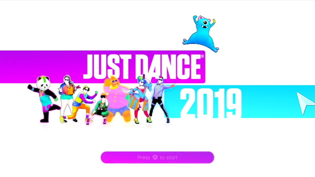 Just Dance 2019 Wii Intro Youtube