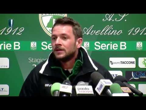 Avellino Calcio - Conferenza di capitan D'Angelo nel pre gara con il Vicenza