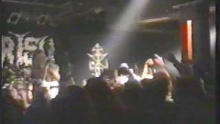 Hypocrisy - Black magic / Osculum obscenum (Live at Knaack club, Berlin February 1996)