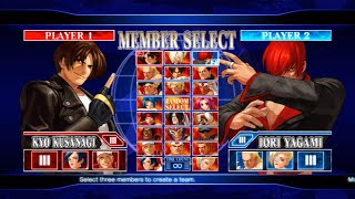 The King of Fighters XII Opening and All Characters [PS3]