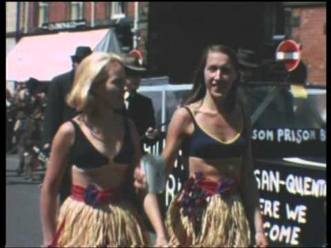 Powys Rhayader Carnival 1970