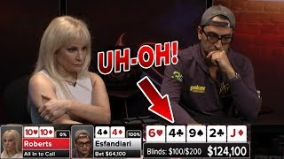 HUGE Pot Alert! Can Pocket Tens Escape Esfandiari's Set? | S5 E28 Poker Night in America
