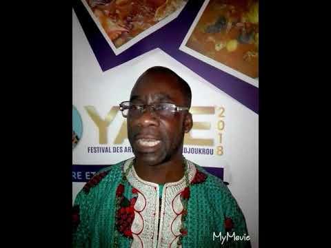 Ackah Marshall, commissaire Général parle du «YAYE»2018(festival des arts et culture de lôdjoukrou)