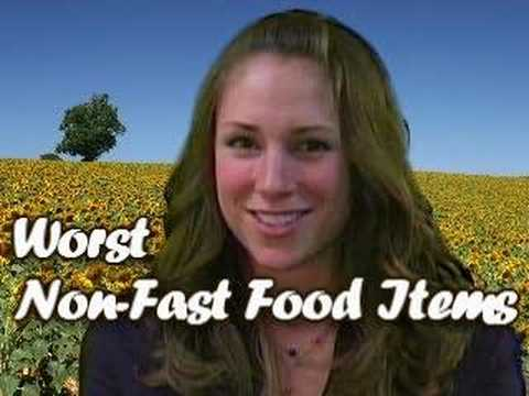 Worst Non-Fast Food Menu Items, Nutrition By Natalie