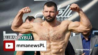 Szymon Kołecki prawie 2 kg cięższy od Bobrowskiego na ważeniu