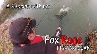 A session with my FOX RAGE fishing gear 72