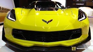 2016 Chevrolet Corvette Z06 C7R Edition - Exterior Interior Walkaround - 2016 Montreal Auto Show