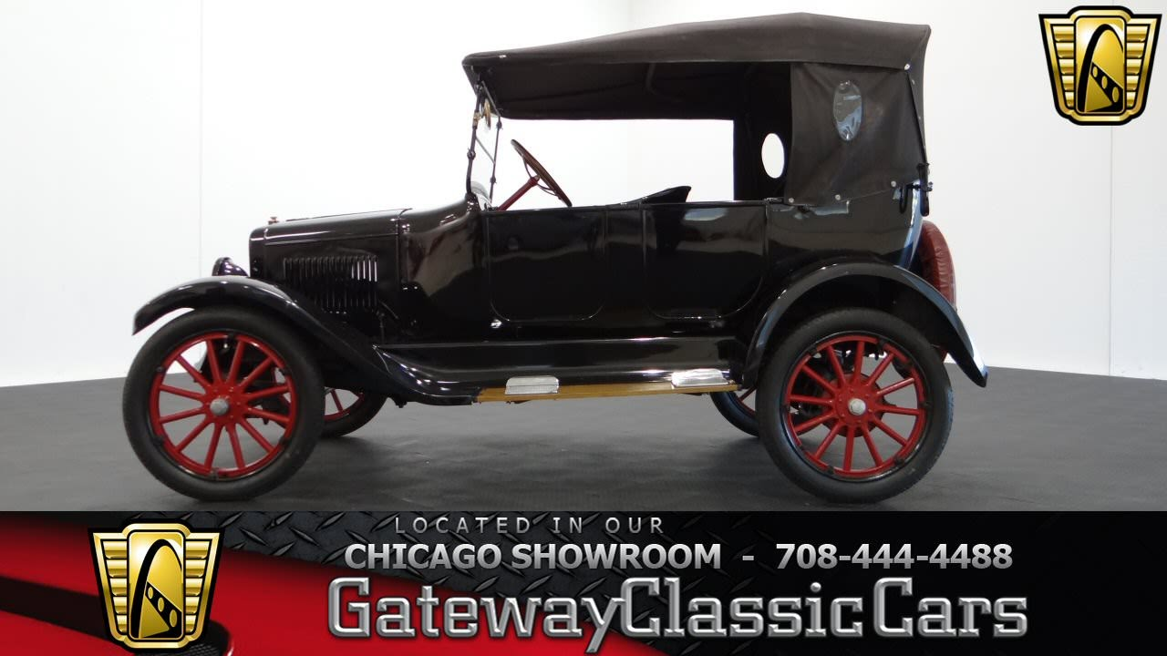 1922 Overland Model 4 Touring Car Gateway Classic Cars Chicago #882 ...