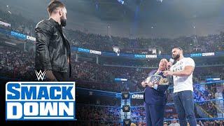 Roman Reigns denies John Cena's challenge in favor of Finn Bálor: SmackDown, July 23, 2021