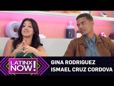 "Gina Rodriguez & Ismael Cruz Cordova Talk ""Miss Bala"" 