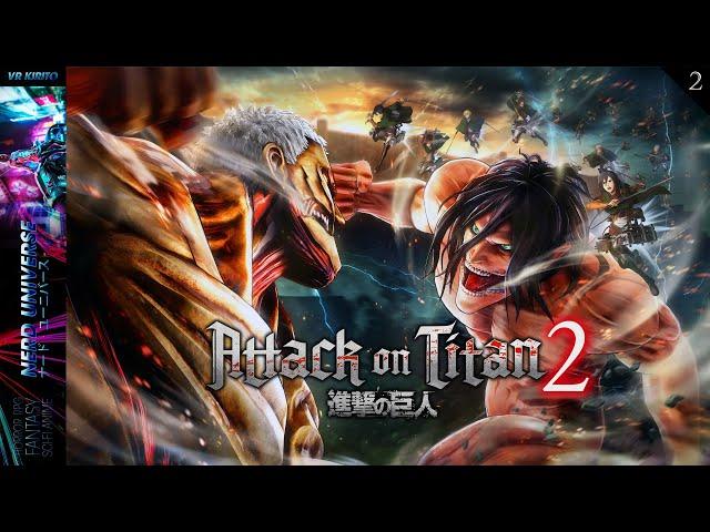 Attack On Titan 2: Final Battle | #2 Freundschaften - Tagebuch - Teambefehle ☬ Deutsch [PC] 1440p
