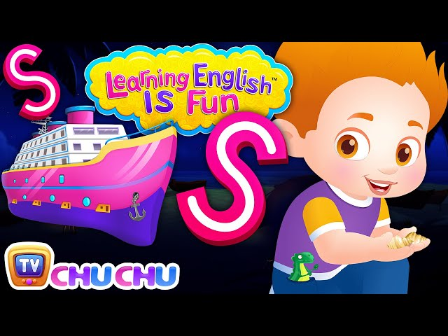 ChuChu TV Learning English Is Fun™ | Alphabet S Song | Phonics & Words For Preschool Children