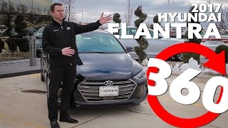 2017 Hyundai Elantra Test Drive in 360 Degrees смотреть