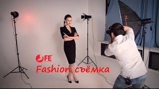 видео Портрет fashion в студии