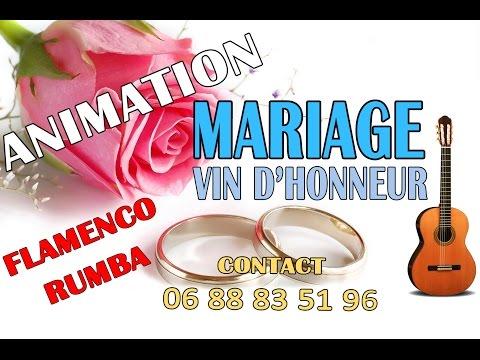 Animation vin d'honneur de mariage  [ Groupe musique Espagnole ]