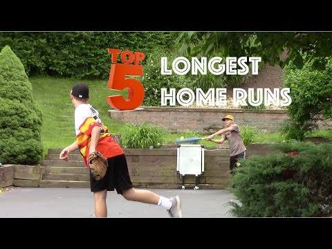 Top 5 Longest Blitzball Wiffleball Home Runs of 2016