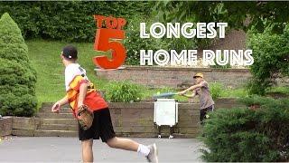 Top 5 Longest Blitzball Wiffleball Home Runs of 2016