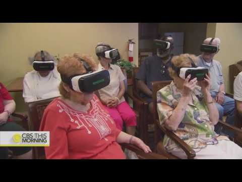 VR startup Rendever serves nursing homes with virtual reality