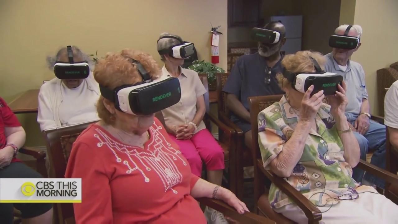 Vr startup rendever serves nursing homes with virtual for Vr for home