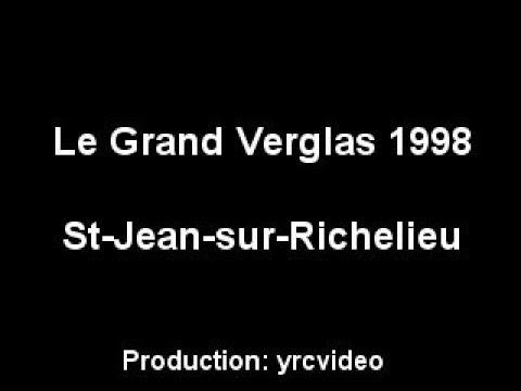 Le Grand Verglas de 1998 à St-Jean-sur-Richelieu