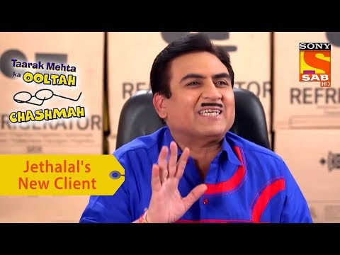 Your Favorite Character | Jethalal Meets His New Client | Taarak Mehta Ka Ooltah Chashmah
