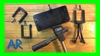 Универсальный кронштейн - адаптер под штатив для смартфона ( посылка из Китая )(, 2015-07-30T00:23:48.000Z)