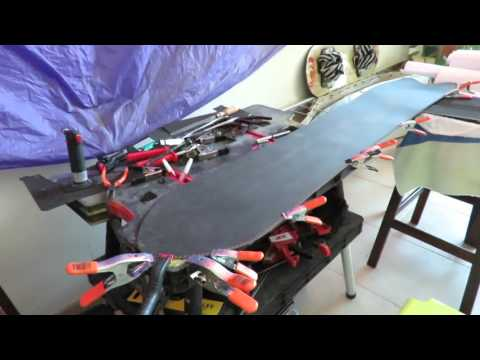 Home made snowboard JMG 60 in less than 9 minutes