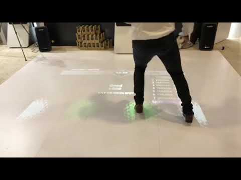 Virtual Mate Fitness Game App At CES 2018 #CES2018