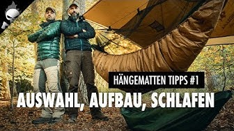Die 5 WICHTIGSTEN TIPPS für HÄNGEMATTEN AUSWAHL, AUFBAU & SCHLAFEN 🌙 Erste Nacht in der Hängematte