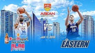 San Miguel Alab Pilipinas VS Hong Kong Eastern| 2nd Quarter| Jan 11 2019| ABL 2018-2019