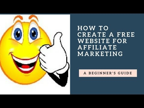 How to create a free website for affiliate marketing – Urdu/Hindi 2017