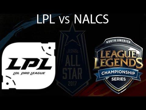China ALL-Stars vs North America All-Stars Highlights 2017 All-Stars League of Legends LPL vs NALCS