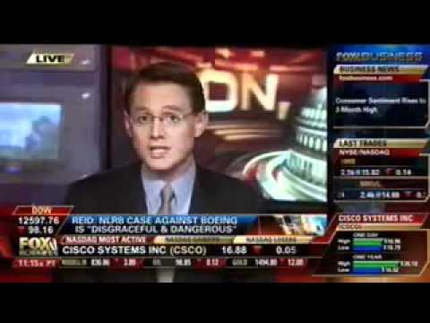 Fox Business Network: NLRB Acting General Counsel & Boeing