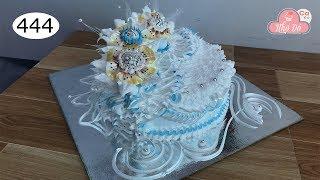 chocolate cake decorating bettercreme vanilla (444) Học Làm Bánh Kem Đơn Giản - khó (444)