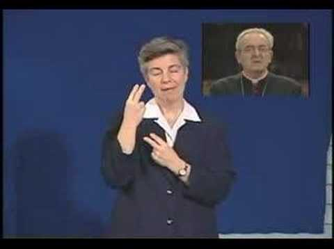 Living Holy Week: Good Friday - Sign Language - YouTube