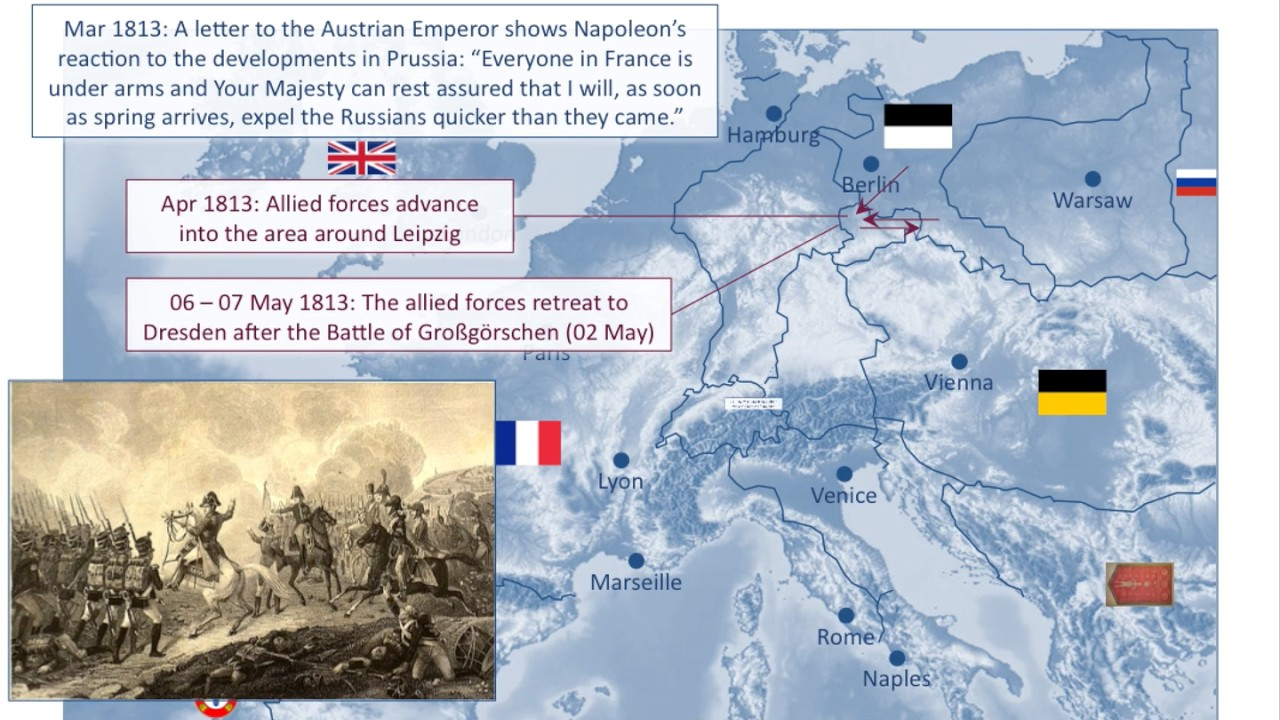 Napoleonic Wars The German Campaign The Invasion Of France Youtube