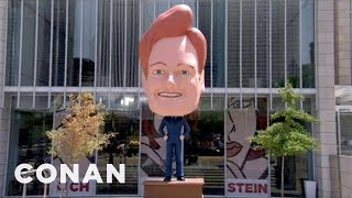 The Conan Bobblehead Finds A Permanent Home - CONAN on TBS